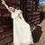 abito · bella · bruna · vintage · ragazza · femminile - foto d'archivio © disorderly