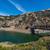 giro · turistico · strada · lago · cielo · costruzione · costruzione - foto d'archivio © disorderly