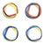 Abstract colorful circles stock photo © djemphoto