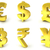 currency golden signs 3d stock photo © djmilic