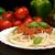 espaguete · jantar · macarrão · refeição · carne - foto stock © dla4