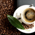 brewed coffee on the laptop with coffee leaf at office stock photo © dla4