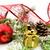 altın · Noel · hediyeler · şerit · iğneler - stok fotoğraf © dla4