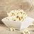 popcorn · hoop · geïsoleerd · witte · textuur · voedsel - stockfoto © dla4