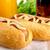 hotdog · üveg · mustár · ketchup · ital · kóla - stock fotó © dla4