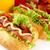 キュウリ · 白 · ホット · 犬 · サラダ · トマト - ストックフォト © dla4