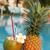 hindistan · cevizi · ananas · taze · içmek · havuz · su - stok fotoğraf © dmitroza