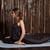 nő · képzés · lábak · jóga · szépség · fiatal · nő - stock fotó © dmitroza