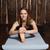 femme · charmant · yoga · sport - photo stock © dmitroza