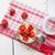 yogourt · fraîches · fraises · haut · vue · sweet - photo stock © dmitroza
