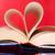 中心 · 図書 · 赤 · 日記 · ロマンス · 感情 - ストックフォト © dmitroza