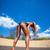 mode · femme · beauté · corps · parfait · jambes · rouge - photo stock © dmitroza