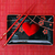 cerâmica · cozinha · utensílios · coração · conjunto · preto - foto stock © dmitroza