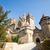 牙城 · 古代 · ピンク · 空 · 建物 · オレンジ - ストックフォト © dmitroza