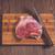 豚肉 · ナイフ · 表 · 入札 · 作品 - ストックフォト © dmitroza