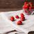 fresas · vidrio · tazón · completo · frescos · maduro - foto stock © dmitroza