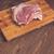 ビッグ · 豚肉 · 作品 · 表 · ステーキ - ストックフォト © dmitroza