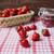 fraises · panier · faible · fermé · verre · jar - photo stock © dmitroza
