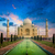 Taj · Mahal · sunrise · coucher · du · soleil · Inde · indian · symbole - photo stock © dmitry_rukhlenko