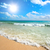belo · praia · mar · ondas · caribbean · verão - foto stock © dmitry_rukhlenko