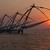 chinês · pôr · do · sol · Índia · forte · sol · silhueta - foto stock © dmitry_rukhlenko