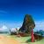kalker · kaya · Tayland · deniz · krabi · dalga - stok fotoğraf © dmitry_rukhlenko