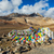 buddhist prayer flags lungta on baralacha la pass in himalayas stock photo © dmitry_rukhlenko