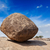 krishnas butterball   balancing giant natural rock stone maha stock photo © dmitry_rukhlenko