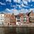 Belgique · canal · médiévale · maisons · nature · maison - photo stock © dmitry_rukhlenko
