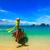 longo · cauda · barco · praia · Tailândia · praia · tropical - foto stock © dmitry_rukhlenko