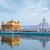 dourado · templo · sikh · água · piscina · arquitetura - foto stock © dmitry_rukhlenko