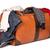 poggyász · izolált · öreg · bőrönd · fehér · utazás - stock fotó © dmitry_rukhlenko