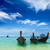 longtemps · queue · bateaux · plage · Thaïlande · plage · tropicale - photo stock © dmitry_rukhlenko