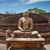 antigo · sessão · buda · imagem · Sri · Lanka · estátua - foto stock © dmitry_rukhlenko