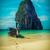 długo · ogon · łodzi · plaży · Tajlandia · tropikalnej · plaży - zdjęcia stock © dmitry_rukhlenko