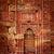 decorated wall in qutub complex delhi india stock photo © dmitry_rukhlenko