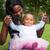 anne · oynama · kız · mutlu · karışık · aile - stok fotoğraf © DNF-Style