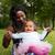 Afrika · anne · kız · mutlu · karışık · aile - stok fotoğraf © DNF-Style
