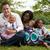 karışık · aile · mutlu · kız · güzel · gün - stok fotoğraf © DNF-Style