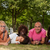 Ethnic family on the grass stock photo © DNF-Style