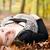 hamile · kız · orman · sarışın · genç · kız · bekleme - stok fotoğraf © DNF-Style