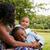 Afrika · anne · çocuklar · mutlu · karışık · aile - stok fotoğraf © DNF-Style