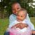mutlu · Afrika · çocuklar · küçük · güzel · gün - stok fotoğraf © DNF-Style