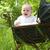 boldog · baba · klasszikus · babakocsi · kislány · ül - stock fotó © DNF-Style