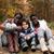multikulturális · nővérek · boldog · család · gyerekek · erdő · boldog - stock fotó © DNF-Style