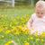 słodkie · dziedzinie · portret · posiedzenia · świeże - zdjęcia stock © dnf-style