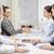 dwa · biznesmenów · przedsiębiorców · działalności · spotkanie · pióro - zdjęcia stock © dolgachov