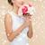 nişan · güzel · genç · yeni · evli · beyaz · elbise · kız - stok fotoğraf © dolgachov