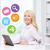 femme · d'affaires · messenger · ordinateur · bureau · gens · d'affaires · technologie - photo stock © dolgachov