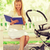 anya · gyermek · olvas · könyv · park · család - stock fotó © dolgachov